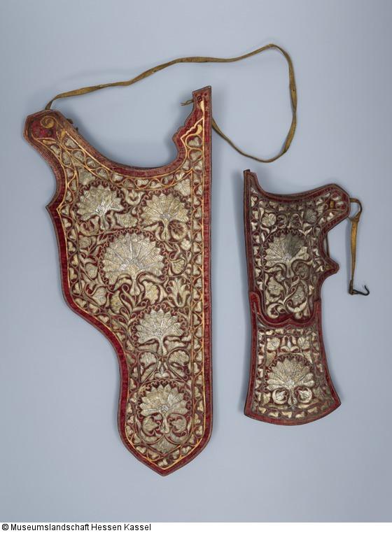 bogenk cher geh rt als garnitur zusammen mit kp b katalog der osmanischen waffen. Black Bedroom Furniture Sets. Home Design Ideas